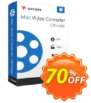 AnyMP4 Mac Video Converter Ultimate Lifetime Coupon, discount AnyMP4 coupon (33555). Promotion: