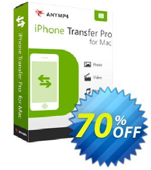 AnyMP4 iPhone Transfer Pro for Mac 프로모션 코드 AnyMP4 coupon (33555) 프로모션: 50% AnyMP4 promotion