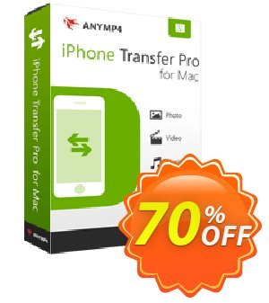 AnyMP4 iPhone Transfer Pro for Mac Coupon, discount AnyMP4 coupon (33555). Promotion: 50% AnyMP4 promotion