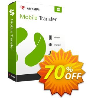 AnyMP4 Mobile Transfer Lifetime Coupon, discount AnyMP4 coupon (33555). Promotion: 50% AnyMP4