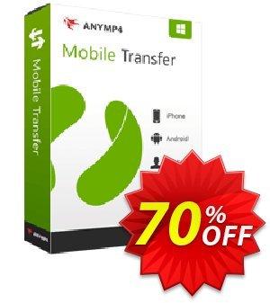AnyMP4 Mobile Transfer Lifetime 프로모션 코드 AnyMP4 coupon (33555) 프로모션: 50% AnyMP4