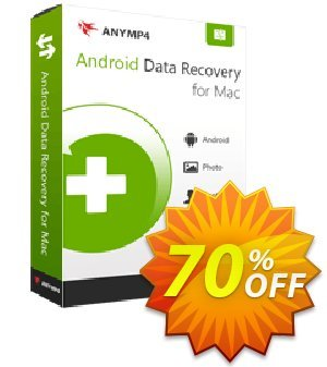 AnyMP4 Android Data Recovery for Mac Lifetime 프로모션 코드 AnyMP4 coupon (33555) 프로모션: 50% AnyMP4 promotion