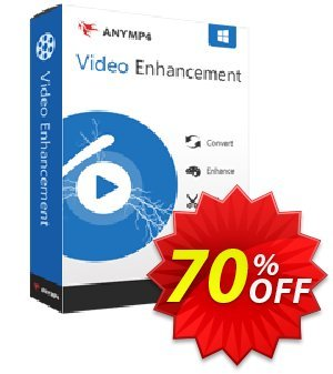 AnyMP4 Video Enhancement Lifetime 프로모션 코드 AnyMP4 coupon (33555) 프로모션: 50% AnyMP4 promotion