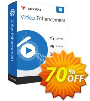 AnyMP4 Video Enhancement Lifetime 優惠券,折扣碼 AnyMP4 coupon (33555),促銷代碼: 50% AnyMP4 promotion