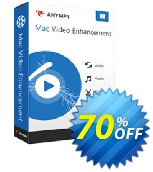 AnyMP4 Mac Video Enhancement Lifetime 프로모션 코드 AnyMP4 coupon (33555) 프로모션: 50% AnyMP4 promotion