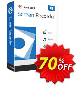 AnyMP4 Screen Recorder Lifetime discount coupon AnyMP4 coupon (33555) - 50% AnyMP4 promotion