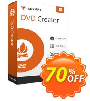 AnyMP4 DVD Creator Coupon, discount AnyMP4 coupon (33555). Promotion: