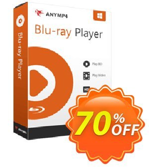 AnyMP4 Blu-ray Player Coupon, discount AnyMP4 coupon (33555). Promotion: