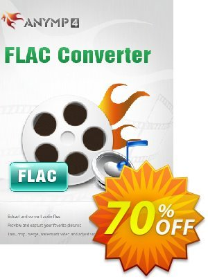 AnyMP4 FLAC Converter Lifetime License discount coupon AnyMP4 FLAC Converter wondrous offer code 2021 - 50% AnyMP4 promotion