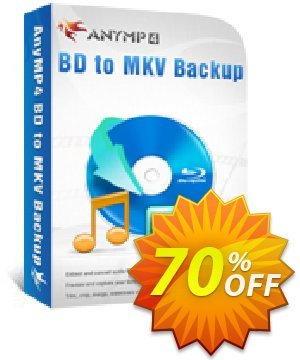 AnyMP4 BD to MKV Backup Coupon, discount AnyMP4 BD to MKV Backup hottest deals code 2021. Promotion: