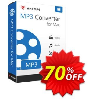 AnyMP4 MP3 Converter for Mac Lifetime Coupon, discount AnyMP4 coupon (33555). Promotion: AnyMP4 MP3 Converter for Mac Lifetime license promotion