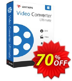 AnyMP4 Video Converter Ultimate discount coupon AnyMP4 coupon (33555) - 50% AnyMP4