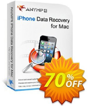 Get AnyMP4 iPhone Data Recovery for Mac 40% OFF coupon code