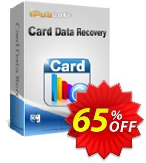 iPubsoft Card Data Recovery for Mac 優惠券,折扣碼 65% disocunt,促銷代碼:
