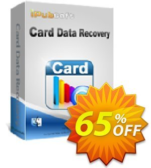 iPubsoft Card Data Recovery for Mac Coupon, discount 65% disocunt. Promotion: