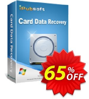 iPubsoft Card Data Recovery discount coupon 65% disocunt -