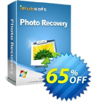 iPubsoft Photo Recovery Coupon, discount 65% disocunt. Promotion:
