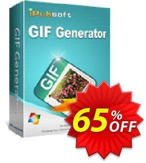 iPubsoft GIF Generator Coupon, discount 65% disocunt. Promotion: