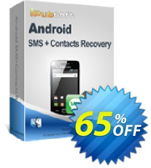 iPubsoft Android SMS+Contacts Recovery (Mac Version) discount coupon 65% disocunt -