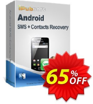 iPubsoft Android SMS+Contacts Recovery (Mac Version) Coupon discount 65% disocunt. Promotion: