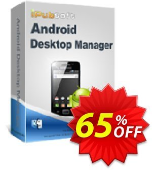 iPubsoft Android Desktop Manager for Mac 프로모션 코드 65% disocunt 프로모션: