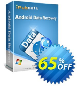 iPubsoft Android Data Recovery Coupon discount 65% disocunt. Promotion: