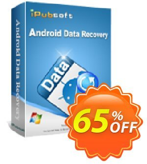 iPubsoft Android Data Recovery割引コード・65% disocunt キャンペーン: