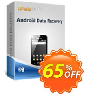iPubsoft Android Data Recovery for Mac discount coupon 65% disocunt -