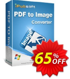 iPubsoft PDF to Image Converter Coupon, discount 65% disocunt. Promotion: