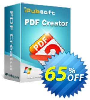 iPubsoft  PDF Creator discount coupon 65% disocunt -
