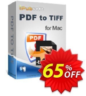 iPubsoft PDF to TIFF Converter for Mac Coupon, discount 65% disocunt. Promotion: