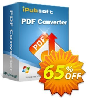 iPubsoft PDF Converter Coupon, discount 65% disocunt. Promotion: