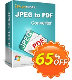 iPubsoft JPEG to PDF Converter discount coupon 65% disocunt -