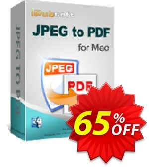 iPubsoft JPEG to PDF Converter for Mac discount coupon 65% disocunt -