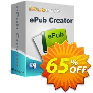iPubsoft ePub Creator for Mac Coupon, discount 65% disocunt. Promotion: