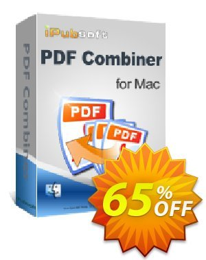 iPubsoft PDF Combiner for Mac Coupon, discount 65% disocunt. Promotion: