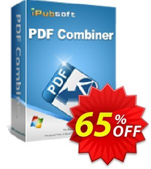 iPubsoft PDF Combiner Coupon discount 65% disocunt -