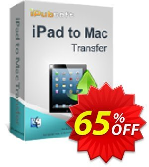 iPubsoft iPad to Mac Transfer Coupon discount 65% disocunt. Promotion: