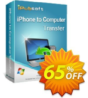 iPubsoft iPhone to Computer Transfer 프로모션 코드 65% disocunt 프로모션: