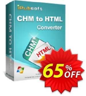 iPubsoft CHM to HTML Converter Coupon discount 65% disocunt -