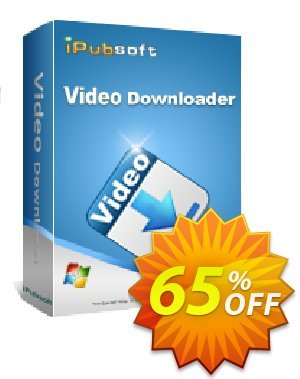 iPubsoft Video Downloader Coupon discount 65% disocunt. Promotion: