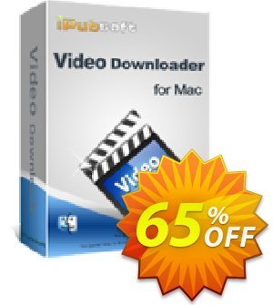 iPubsoft Video Downloader for Mac discount coupon 65% disocunt -