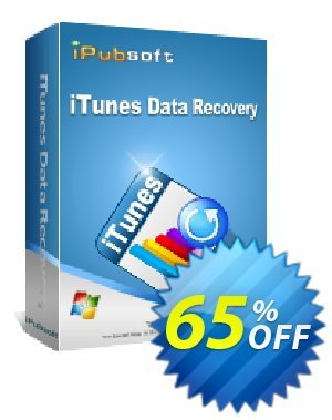 iPubsoft iTunes Data Recovery Coupon, discount 65% disocunt. Promotion: