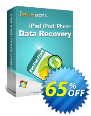 iPubsoft iPad/iPod/iPhone Data Recovery discount coupon 65% disocunt -