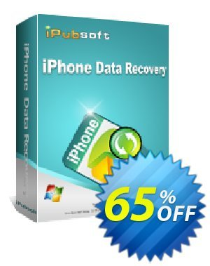 iPubsoft iPhone Data Recovery discount coupon 65% disocunt -