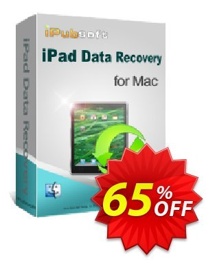 Get iPubsoft iPad Data Recovery for Mac 65% OFF coupon code