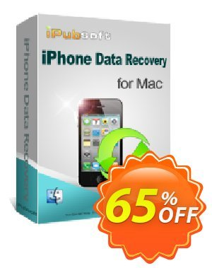 iPubsoft iPhone Data Recovery for Mac discount coupon 65% disocunt -