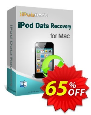 iPubsoft iPod Data Recovery for Mac 프로모션 코드 65% disocunt 프로모션: