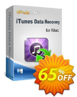 iPubsoft iTunes Data Recovery for Mac Coupon, discount 65% disocunt. Promotion: