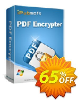 iPubsoft PDF Encrypter discount coupon 65% disocunt -